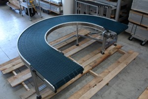 Curved Modular Conveyor